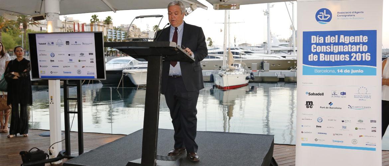Jordi Trius en la 4a edición del Día del Agente Consignatario