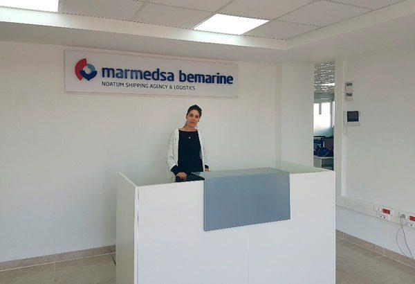 Marmedsa Bemarine nueva oficina Argel