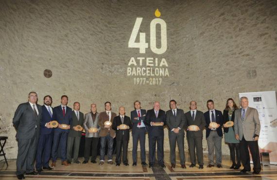 UGL en el 40 aniversario ATEIA Barcelona