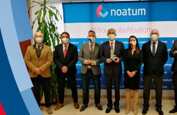 V Premios Faro a la Trayectoria Empresarial para Grupo Noatum