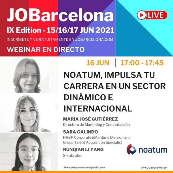 Webinar Noatum JOBarcelona 2021