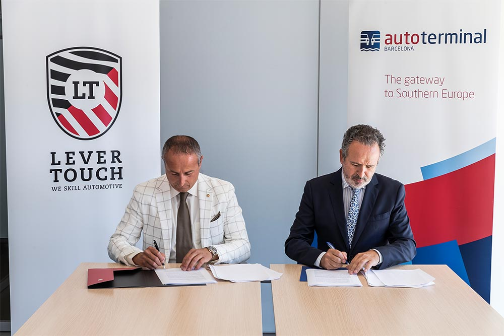 Collaboration agreement between Autoterminal and Lever Touch